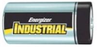 EVEEN95 1.5V D ALKALINE BATTERY,ENERGIZER,INDUSTRIAL EVEREADY